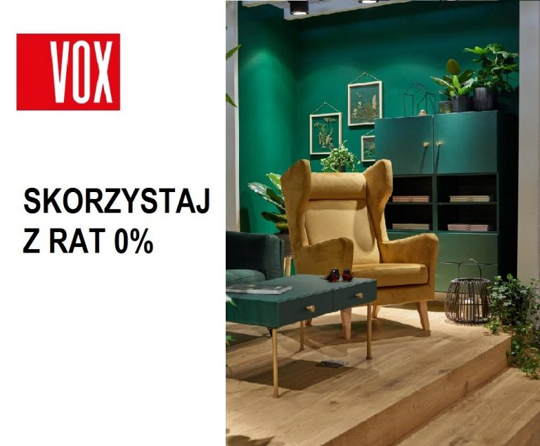 Meble VOX raty 0%